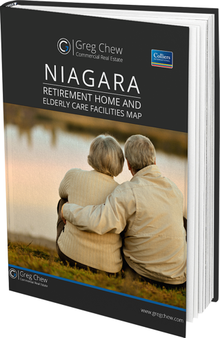 Niagara Elderly Care Facilities Map