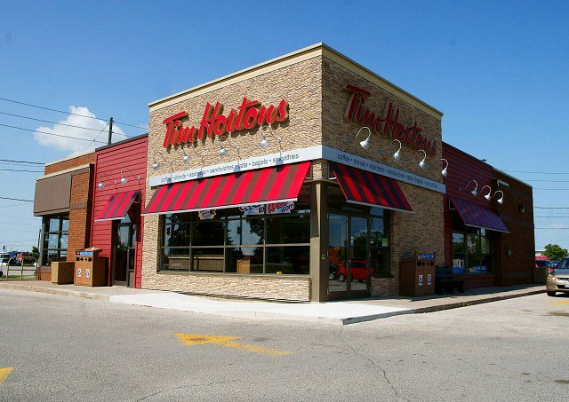 tim hortons NOTL retail development